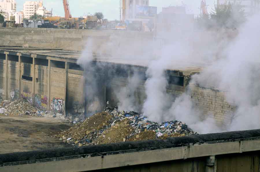 Open incineration continues in and around Beirut | Source: NewsroomNomad/WassimNouwar