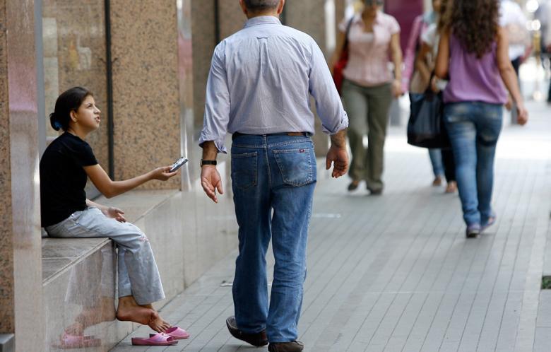 Dissociation allows us to ignore poverty | Source: Al-Akhbar/MarwanTahtah