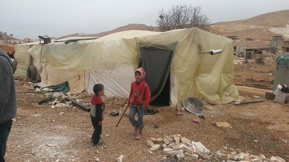 Informal tented settlement, Arsal, northeastern Lebanon   Newsroom Nomad